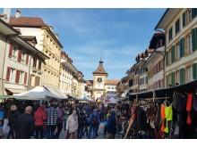 Martinsmarkt in Murten (Jura & Drei-Seen-Land)