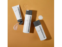 Regimen with Product Form on Orange - PreCleanse Balm with Special Cleansing Gel and Daily Microfoliant
