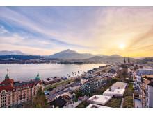 Hotel Montana Luzern Aussicht