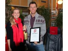 Vinner: Store bedrifter 2012: Norwegian