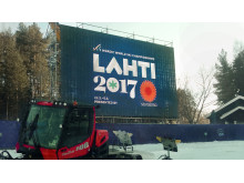 Lahti 2017 MM-kisat ja Pisten Bully -latukone