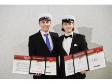 Stolta Stipendiater på Strömbackaskolan i Piteå