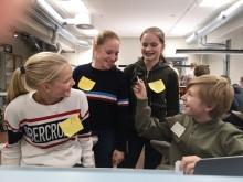 Elever ved talentsenteret ved Oslo vitensenter ved Teknisk museum