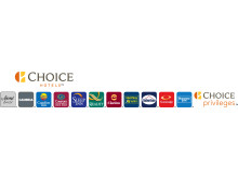 Choice Hotels International Logo. Horizontal.
