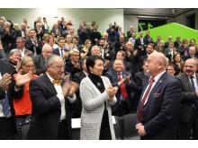 Prof. Dr. László Ungvári als Präsident der Technischen Hochschule Wildau feierlich verabschiedet