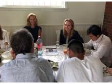 Linda Hofstad Helleland besøker familiehjem i Asker_Foto SOS-barnebyer