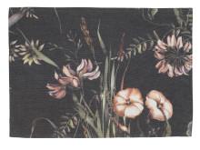 Place mat KNEROT 32x44 flower dark grey SDP (49,95 DKK)
