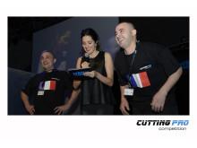 TYROLIT Cutting Pro Competition tävlande för Frankrike