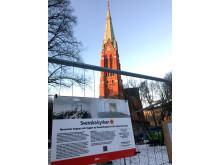 Svenska kyrkan renoverar kyrktrappa