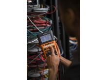 PT-E550WVP de ideale labelprinter voor electra- en netwerklabels