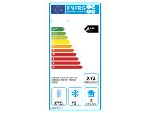 Energimärkning av professionell kyl och frys