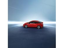 Nya Prius med imponerande lågt luftmotstånd