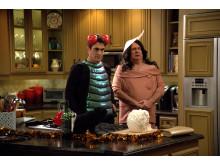 Ty Burrell och Eric Stonestreet i Modern Family säsongspremiär på FOX söndag den 28/10 kl 21.00.