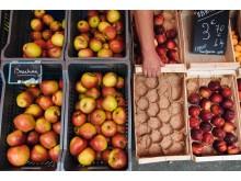 Äpplen i Frankrike.