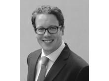 Carl-Friedrich zu Knyphausen, chef för logistikutveckling på Zalando, Europas största onlinebutik.