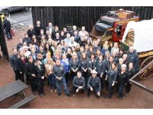 Swanson's personal och utställare på Amerikadagen den 4 mars 2017.