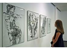 Galerie Hotel Leipziger Hof - Matthias Klemm - Bilder mit Walzen