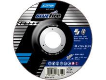 Norton Blue Fire - Produkt 4: Navrondell vinkelslip