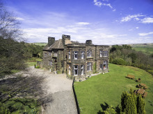 Roaches Hall - Aerial view