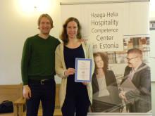 AHLEI Course giveaway in Tallinn's Food Fair