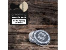 Grooming Awards 2018 - Bästa styling på burk - Reuzel Extreme Hold Matte Pomade