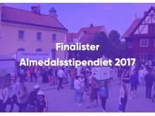 Finalister Almedalsstipendiet 2017