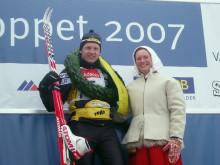 Oskar Svärd siktar på seger i Marcialonga på söndag – men har redan siktet på Vasaloppet