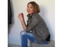 Maria Ahlgren, skönhetsredaktör för Damernas Värld.