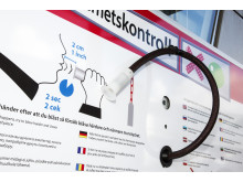 Automatisk nykterhetskontroll Frihamnen, Stockholm