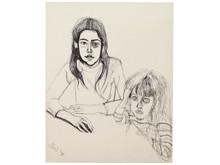 Alice Neel/Olivia och Elizabeth/Olivia and Elizabeth, 1978