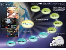 IP MobileCast - KVH tar bredbandstekniken över VSAT till en ny nivå