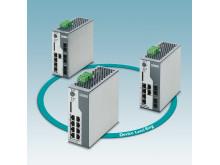 Managed switches til Ethernet/IP netværk