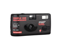 Lomography Simple Use Film Camera_Black_White_quarter right