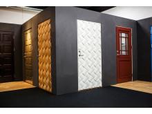 Ekstrands nya utställning - ytterdörrar