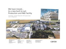 Cavidi moves to new production and R&D facility