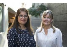Bita Forghani och Ingrid Undeland