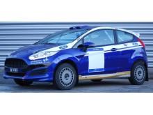 Denne bilen skal Andreas benytte i årets første NM-runde i rally 2