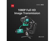 Zhiyun Crane 3 LAB 3 1080P iamge transimission