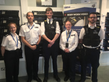 Ch. Supt Catherine Roper (Islington) and officers