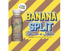 Barebells lanserar nyheten Banana Split Milkshake
