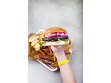 Art 800003 Spicy Bean Burger 100g, vegansk