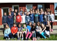 Vinnande klass från Skryllängsskolan