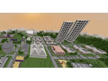 Minecraft Future City Ekholmsskolan