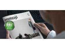 Das aktuelle Immoji©-Journal: Relevante Themen, journalistisch aufbereitet und attraktiv verpackt. Für das On- und Offline-Marketing moderner Immobilienmakler