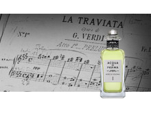 """Acqua di Parma """"Note di Colonia"""" - Acqua di Parma firar 100 år med en hyllning till Parmas rika kulturarv. Lanseras på Gents Barber & Perfume Bar."""