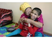 Centralasien: Barn med funktionsnedsättning