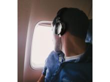 Lifestyle Image Plane - AKG N60NC