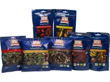 Kung Markatta lanserar en oemotståndlig uppsättning av läckra raw-snacks