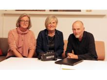 Kerstin, Barbro och Thore