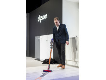 Jake Dyson, Chief Engineer, at Dyson launch event in Paris, 6 March 2018 - 4